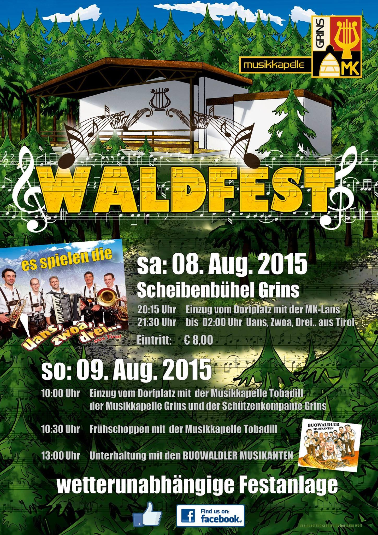Waldfest Grins