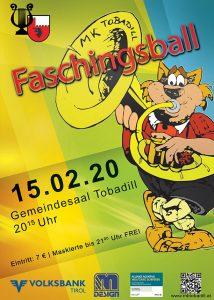 33. Tobadiller Faschingsball @ Gemeindesaal Tobadill | Tobadill | Tirol | Österreich