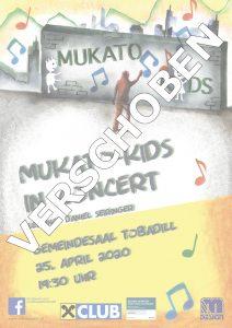 MUKATO Kids in concert 2020 @ Gemeindesaal Tobadill | Tobadill | Tirol | Österreich