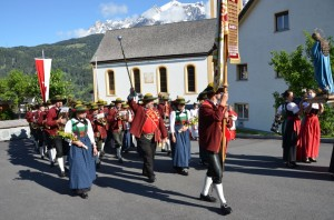 Fronleichnam Prozession