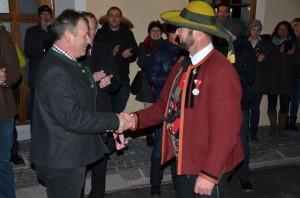 Ständchen Bürgermeister Martin Auer