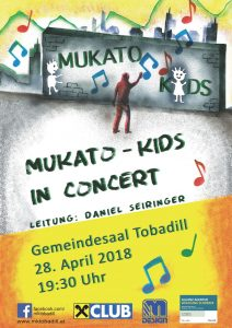 MUKATO Kids in concert @ Gemeindesaal Tobadill | Tobadill | Tirol | Österreich