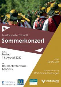 Sommerkonzert im Hotel Schrofenstein
