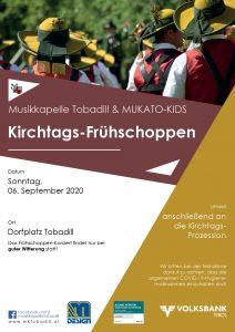 Kirchtags-Frühschoppen @ Kirchplatz Tobadill