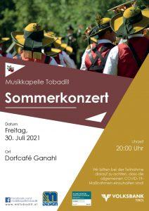 Sommerkonzert Dorfcafé Ganahl
